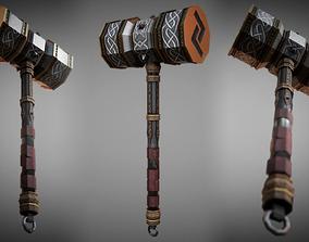 3D model Metal Warhammer 01