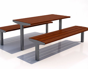 3D model MMCite Vera Solo Bench and Table