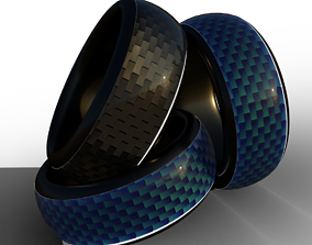 Platinum Ring 3D model