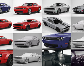 3D Dodge Challenger Collection