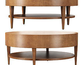 3D model Catalina Round Coffee Table by HBF furniture