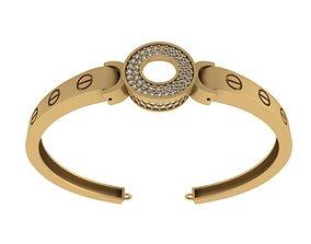 Bvlgari bracelet 3D model switzerland