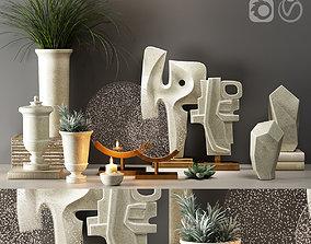 vase Decor Set 31 3D model