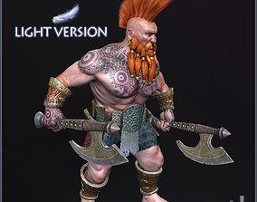 Dwarf Slayer Light Version 3D model