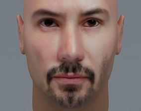 3D model Keanu Reeves