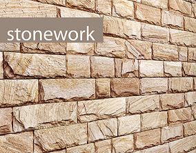 Stone slate 3D