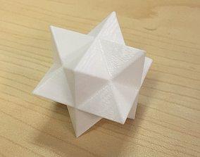 3D print model Cube Star