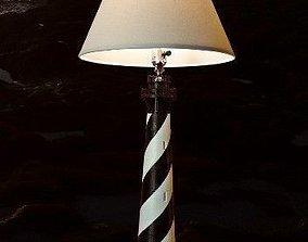 Cape Hatteras Lighthouse Lamp 3D print model