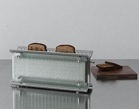 3D model toaster 04 am145