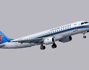 3D model game-ready Embraer E190 Southwest Airline