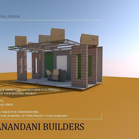 Builder exhibition stall