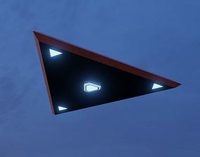 3D model Triangle UFO