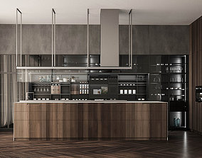 Poliform kitchen 3D model