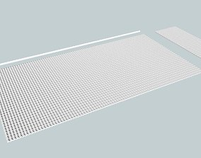 Spanish Tile Roof Sheet N scale 3D printable model