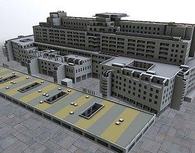 Nice Centre Hospitaler 3D model