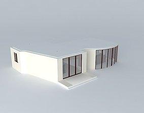 living room%26kitchen.SU 3D model