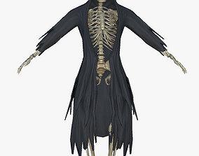 3D asset dracon85 Grim Reaper Skeleton Model