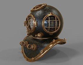 3D model ocean Diving Helmet