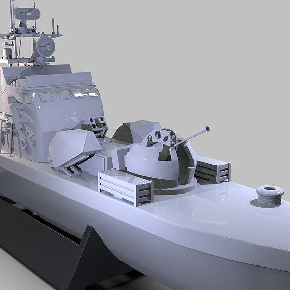 Iranian Missile Warship