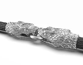 3D print model End pieces for bracelets Snake