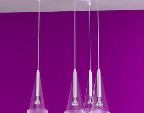 3D Fucsia 1 3 Pendant Lamps by Flos