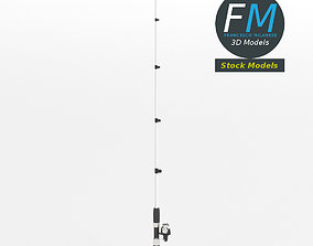 3D model PBR Fishing rod 2