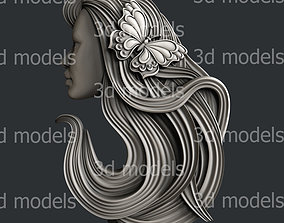 3d STL models for CNC router or 3dprinter face