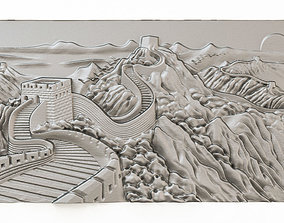 Decorative Bas-relief 3D model Dec043