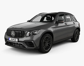 Mercedes-Benz GLC-class X205 S AMG with HQ interior 3D
