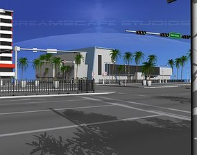 3D model Downtown Miami