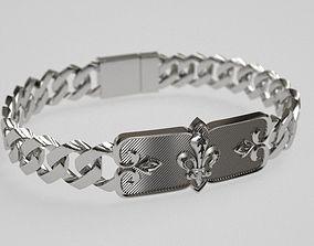 Soldiers arm Bracelet 3D print model