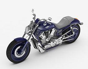 harley-davidson Motorbike 3D