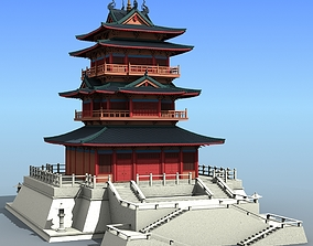 3D Chinese Architecture 01