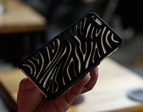 Iphone 6 Plus Case Zebra 3D print model