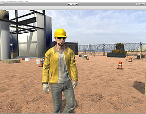 Working man 3D model