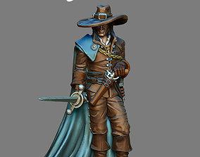 musketeer Musketeer - Athos - 35mm scale 3D print model