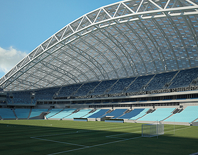 3D Fisht Olympic Stadium