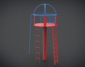 3D model game-ready Playset 3