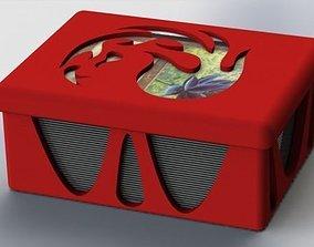 MTG card deck boxes 3D print model