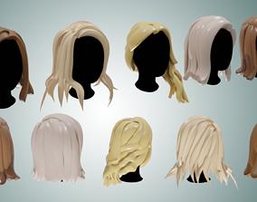 Base Haircuts 6-10 3D asset