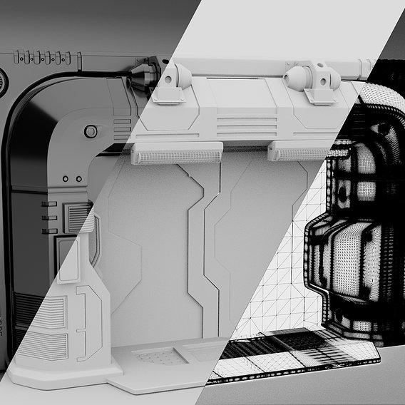 Sci fi gate
