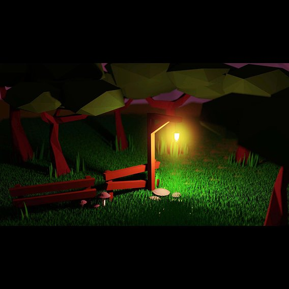 Lost Light - Low Poly