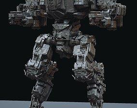 3D Juggernaut Mech