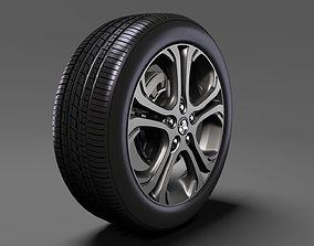 Holden Bolt EV wheel 2017 3D model