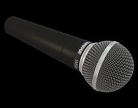 Shure SM58 Microphone 3D