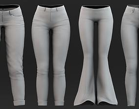 3D Pants Pack 02