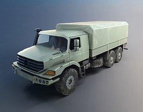 3D model Military Transportation Truck
