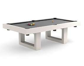 Century Billiards Custom SoHo Outdoor Pool Table 3D model
