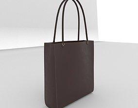 PBR leather bag 3D model