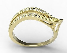 rings Gold Ring 3D print model